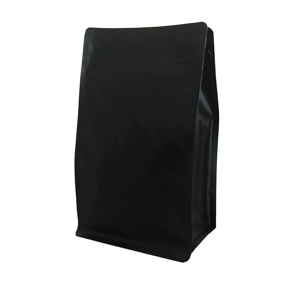 Крафт пакет для кофе черный