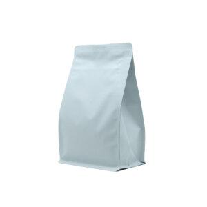 Упаковка для кофе на 250 г белого цвета