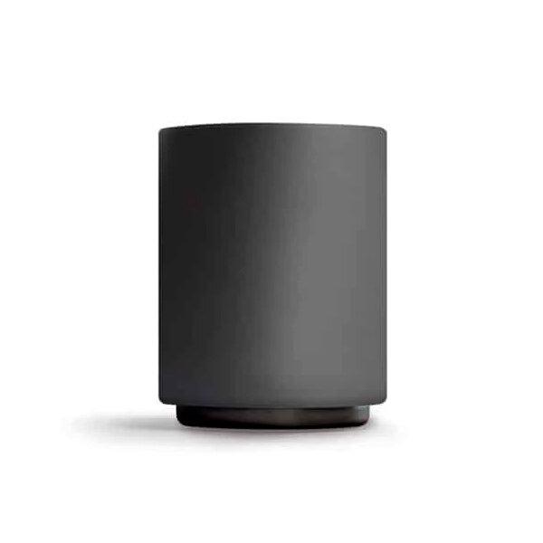 Матовая чашка для Латте черного цвета