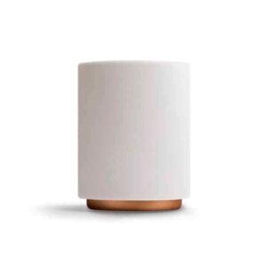 Матовая чашка для Латте белого цвета