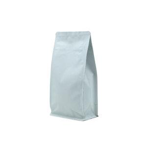 Упаковка для кофе на 100 г белого цвета