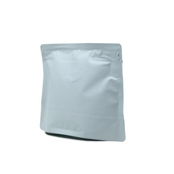 Фасонный Дой-пак для кофе 0,25 кг (белый)